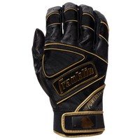 Franklin Powerstrap Batting Gloves - Men's - Black / Gold