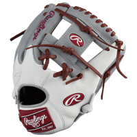Rawlings Heart of the Hide Fielder's Glove - Men's - Grey / Maroon