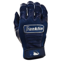 Franklin CFX Pro Chrome Batting Gloves - Men's - Navy / Silver
