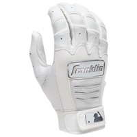 Franklin CFX Pro Chrome Batting Gloves - Men's - White
