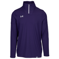 Under Armour Team Knit 1/4 Zip - Men's - Purple