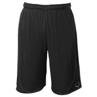 Evoshield Pro Team Training Shorts - Boys' Grade School - All Black / Black
