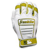 Franklin CFX Pro Batting Gloves - Men's - White / Gold