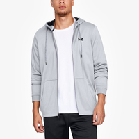 Under Armour Armour Fleece Full Zip Hoodie - Men's - Grey