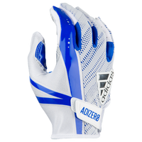 adidas 5-Star 6.0 Receiver Gloves - Men's - White / Blue