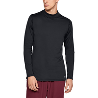 Under Armour CG Armour Compression Fitted Mock - Men's - All Black / Black