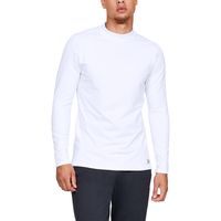 Under Armour CG Armour Compression Fitted Mock - Men's - White