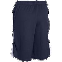 under armour shorts for girls. under armour pop a shot shorts - girls\u0027 grade school navy / white for girls