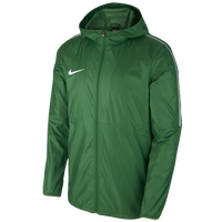 Nike Team Dry Park Jacket - Men's - Green / White