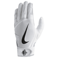 e222a113ee38 Nike Huarache Edge Batting Gloves - Grade School - White   Black