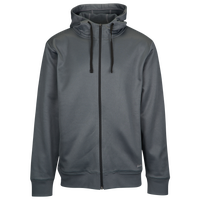 Eastbay Team Performance Fleece Full Zip Hoodie - Men's - Grey