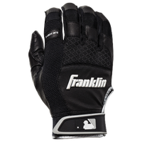Franklin X-Vent Pro Shok Batting Gloves - Men's - Black / White