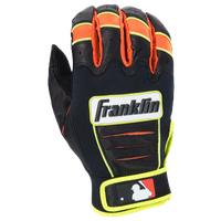 Franklin CFX Pro Batting Gloves - Men's -  Hunter Pence - Black / Orange