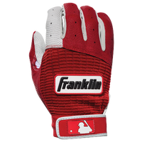 Franklin Pro Classic Batting Gloves - Men's - Red / White
