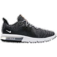 Nike Air Max Sequent 3 Men S Running Shoes Black White Dark Grey