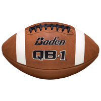 Baden Team QB1 Leather Game Football - Men's