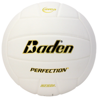 Baden Team Perfection Leather Volleyball - White / Black