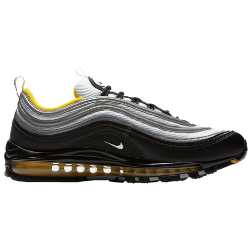sports shoes f3965 81a5b ... sale nike air max 97 mens casual shoes black white amarillo 083ce 3d163
