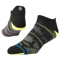 Stance Night Light Lightweight Run Tab - Men's - Black / Grey