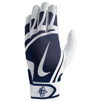 Nike Huarache Edge Batting Gloves - Grade School - White / Navy