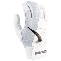 Nike Force Edge Batting Glove - Men's - White
