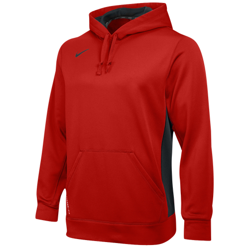 Nike Team KO Hoodie - Men's - Casual - Clothing - Scarlet/Anthracite/ Anthracite