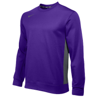 Nike Team KO Crew - Men's - Purple / Grey