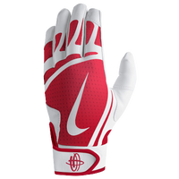 Nike Huarache Edge Batting Gloves - Grade School - White / Red