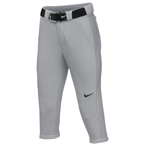 Nike Team Vapor Pro 3/4 Pants - Women's Softball - Blue Grey/Black 21988052