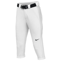 Nike Team Vapor Pro 3/4 Pants - Women's - All White / White