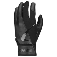 Nike Force Edge 2.0 Batting Glove - Grade School - All Black / Black