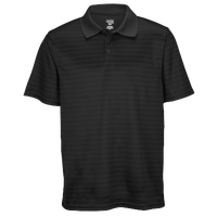 Eastbay EVAPOR Team Performance Polo 2.0 - Men's - All Black / Black