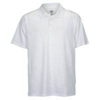 Eastbay EVAPOR Team Performance Polo 2.0 - Men's - All White / White