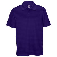 Eastbay EVAPOR Team Performance Polo 2.0 - Men's - Purple / Purple