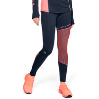 Under Armour ColdGear Armour Tights - Women's - Navy / Pink
