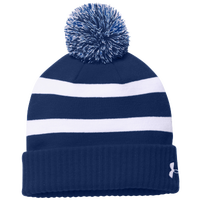 Under Armour Team Pom Beanie - Navy / White