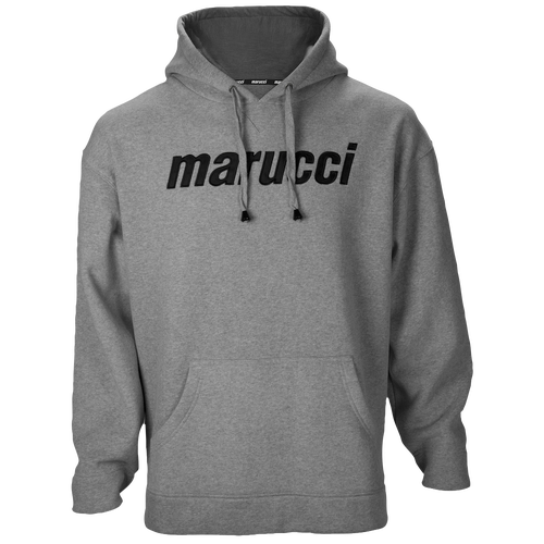 Marucci Logo Fleece Hoodie - Men's Baseball - Grey 22435212