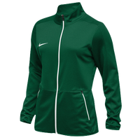 Nike Team Rivalry Jacket - Women's - Dark Green / White
