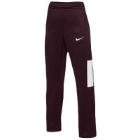 Nike Team Rivalry Pants - Women's - Maroon / White