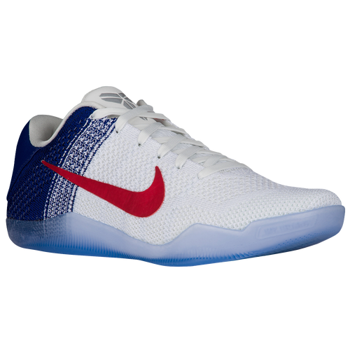 quality design 43374 30cdf ... Deep Royal Blue durable service Nike Kobe 11 Elite Low Mens Basketball  Shoes USA Kobe Bryant White University Red