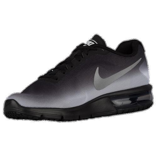 Men S Air Max Sequent Running Shoe Black White