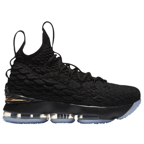 Nike LeBron 15 - Boys' Grade School - Lebron James - Black / Gold