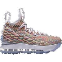 3225c3001ae Nike LeBron 15 - Boys  Grade School - Lebron James - Multicolor   White