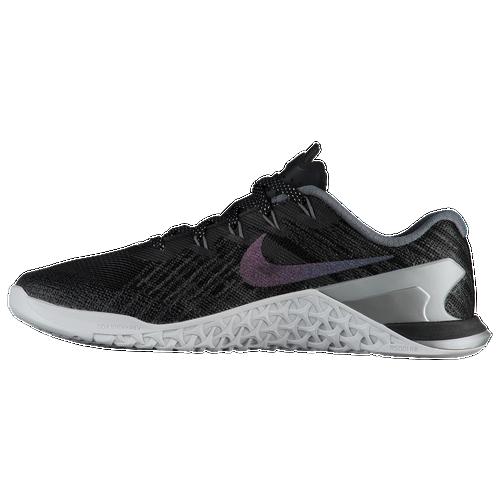 Nike Metcon 3 - Women's - Training - Shoes - Black/Pure Platinum/Metallic  Silver