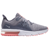 Nike Air Max Sequent 3 - Girls' Grade School - Grey / Silver