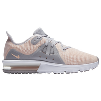 Nike Air Max Sequent 3 - Girls' Grade School - Grey / Pink