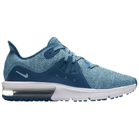 Nike Air Max Sequent 3 - Girls' Grade School - Aqua / Light Blue