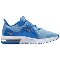 Nike Air Max Sequent 3 - Girls' Grade School - Light Blue / Blue
