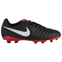 Nike Tiempo Legend 7 Academy MG - Boys' Grade School - Black / Red