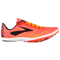 Brooks Mach 18 Spike - Women's - Pink / Orange